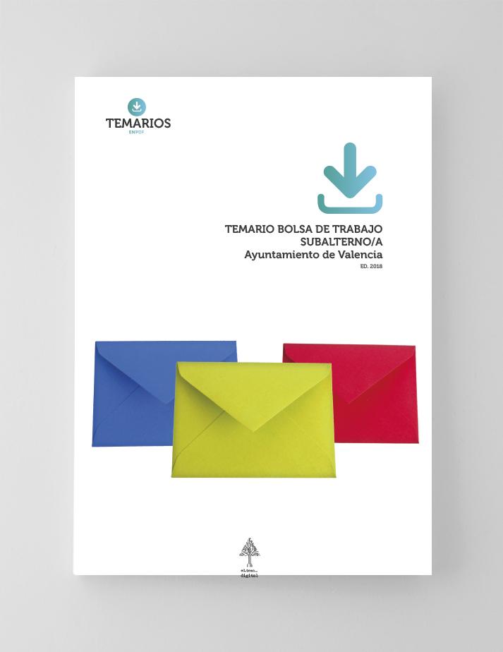 Temarios - Bolsa Trabajo Subalterno Ayuntamiento Valencia - Temarios PDF