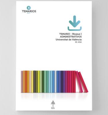 Temario Administrativos Universitat de Valencia Bloque 1 - Temarios PDF