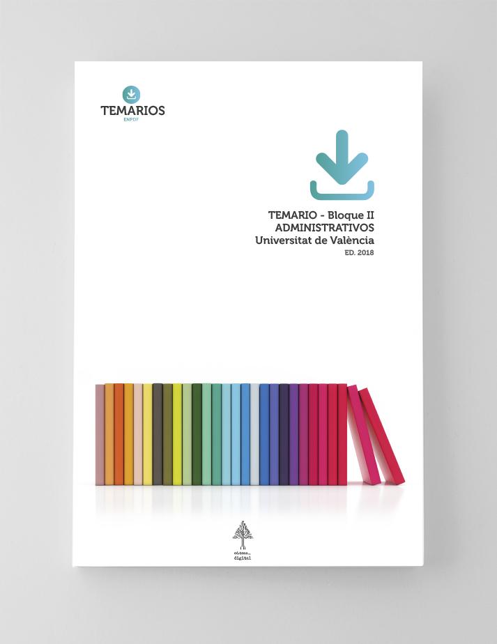 Temario Administrativos Bloque 2 - Universitat Valencia - Temarios PDF