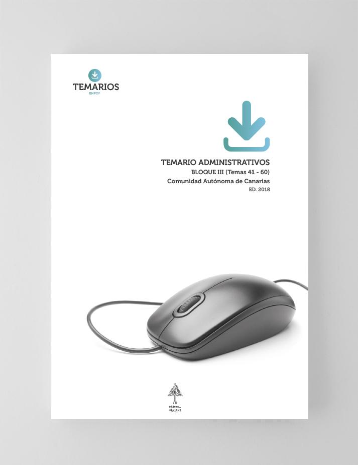 Temario - Auxiliares Administrativos Canarias - Bloque 3 - Temarios PDF