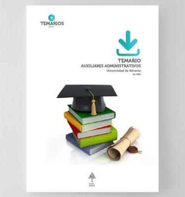 Temario Auxiliares Administrativos Universidad de Almería