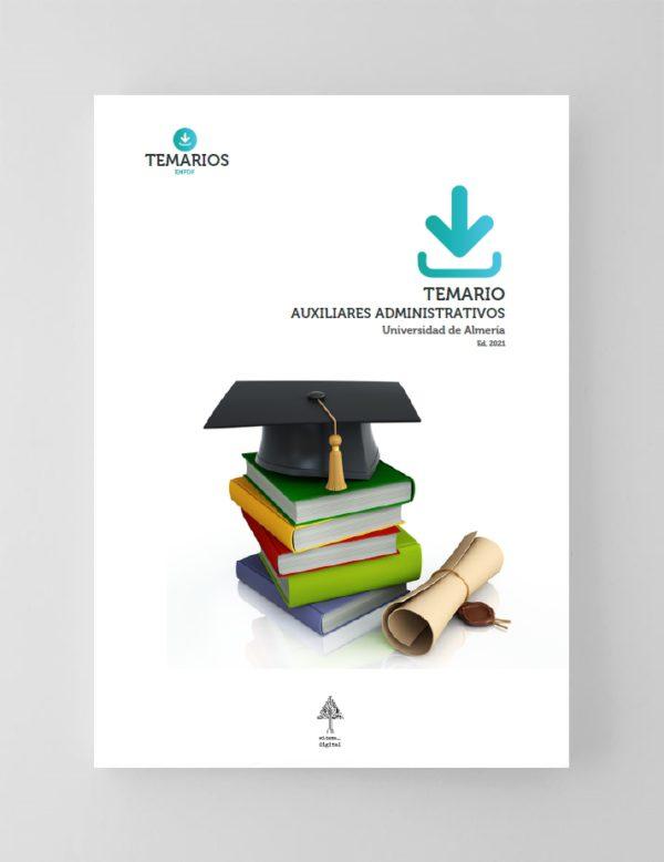 Temario Auxiliares Administrativos Universidad de Almería 2021