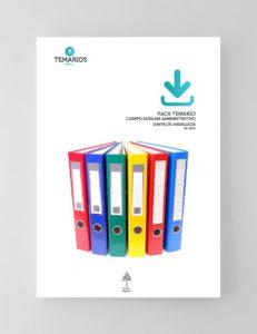 Pack Temario Cuerpo Auxiliar Administrativo Junta de Andalucía 2019