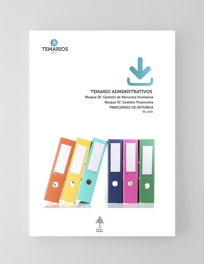 Temario Administrativos - Bloque 3 - Gestión Recursos Humanos Asturias - Temarios PDF
