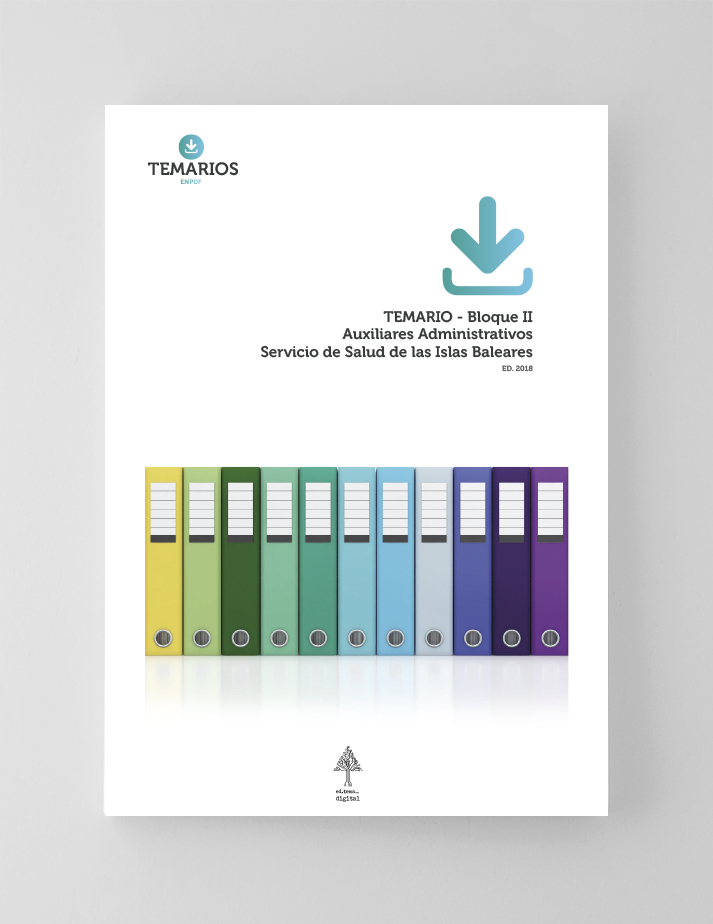 Temario - Auxiliares Administrativos Baleares - Bloque 2 - Temarios PDF