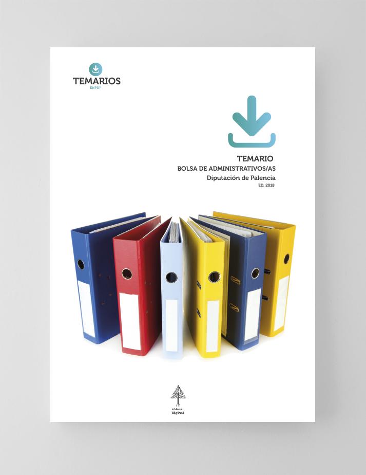 Temario Bolsa de Administrativos Diputación Palencia - Temarios PDF