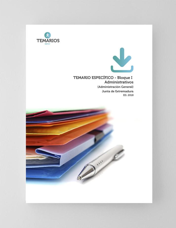 Temario Específico Administrativos Junta de Extremadura - Bloque 1 - Temarios PDF