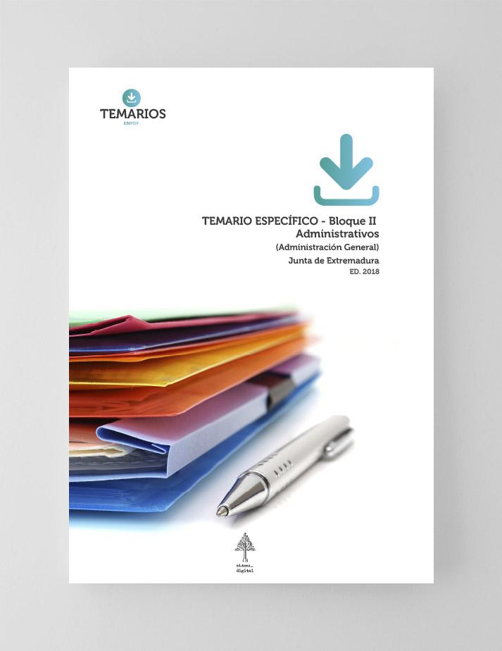 Temario Específico Administrativos Junta Extremadura - Bloque 2 - Temarios PDF