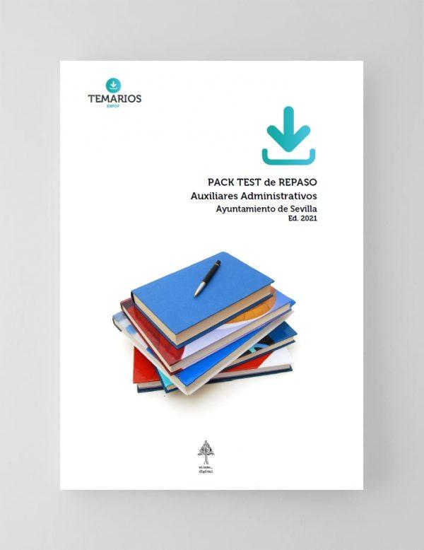 Pack Test Auxiliares Administrativos - Ayuntamiento de Sevilla 2021