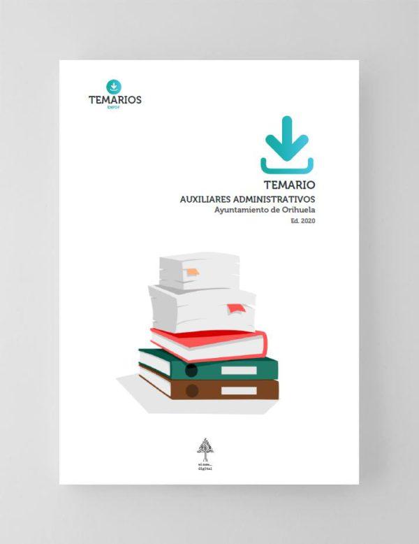 Temario Auxiliares Administrativos Ayuntamiento de Orihuela 2020