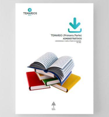 Temario Administrativos Universidad Complutense de Madrid - 1 parte
