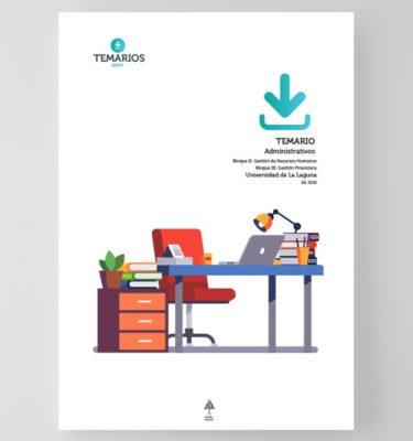 Temario Administrativos Universidad La Laguna Bloque 3 - Temarios PDF
