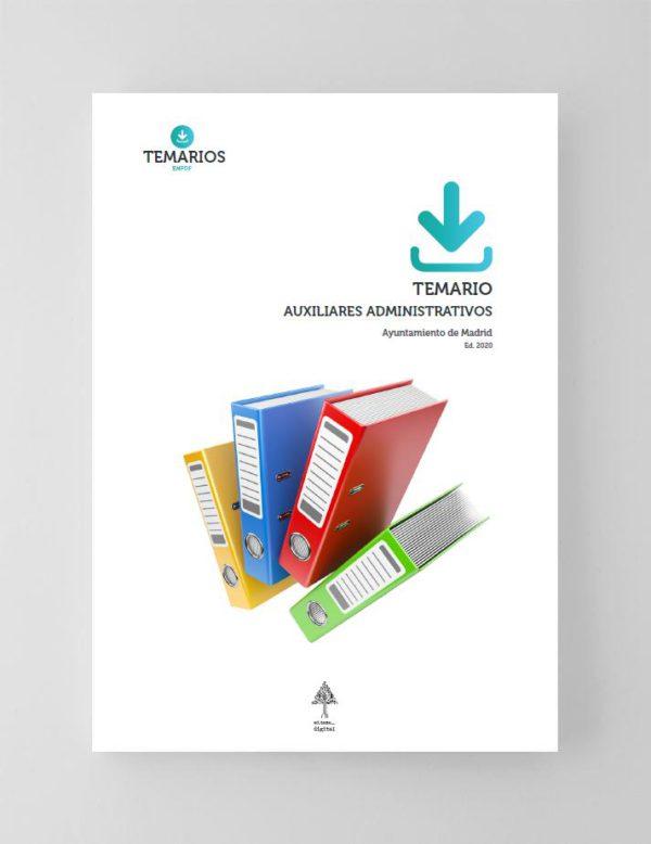 Temario Auxiliares Administrativos Ayuntamiento de Madrid 2020