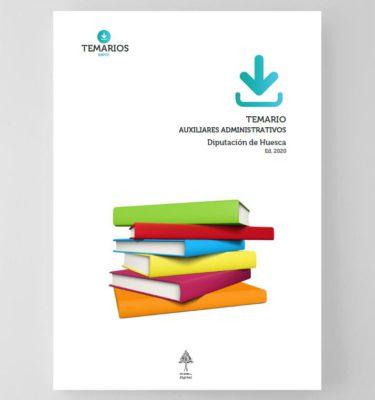 Temario Auxiliares Administrativos Diputación Huesca 2020