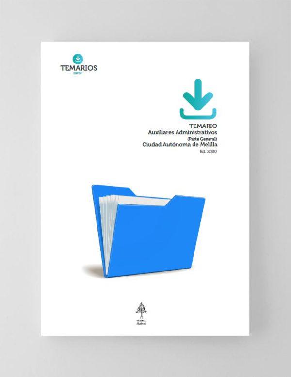 Temario Auxiliares Administrativos Ciudad Autónoma de Melilla Parte General 2020