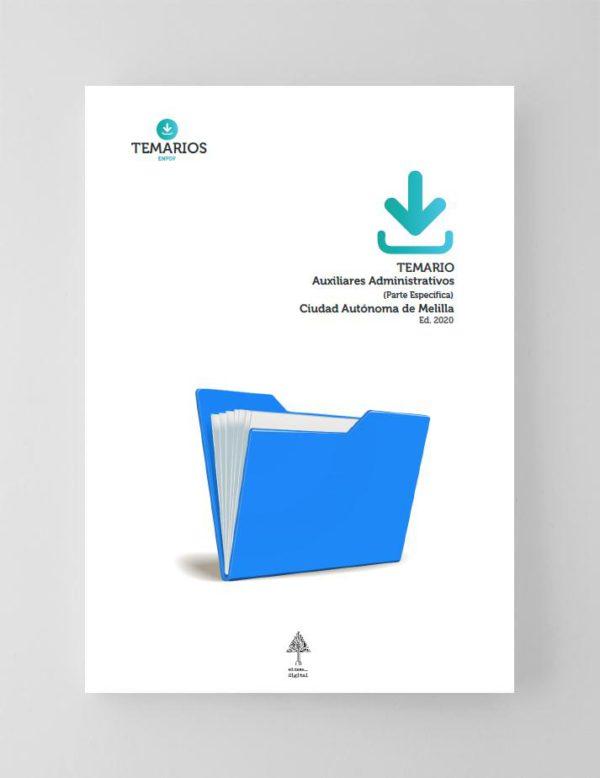 Temario Auxiliares Administrativos - Melilla 2020