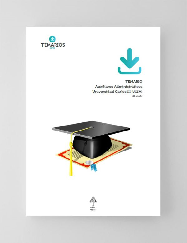 Temario Auxiliares Administrativos UC3M 2020