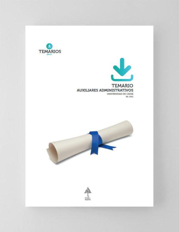 Temario Auxiliares Administrativos Universidad de Cadiz