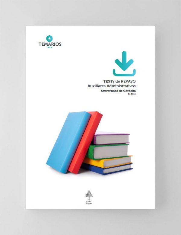 TESTs Oposiciones Auxiliares Administrativos Universidad de Córdoba 2020