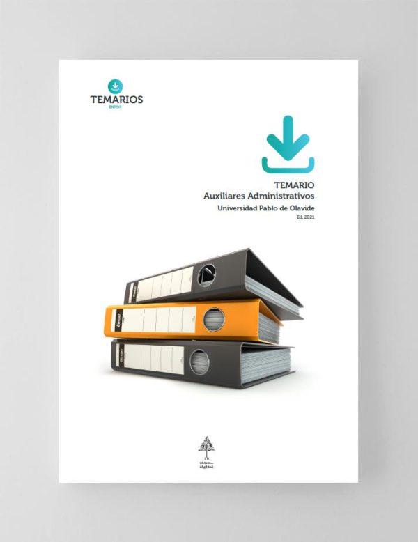 Temario Auxiliares Administrativos Universidad Pablo de Olavide 2021