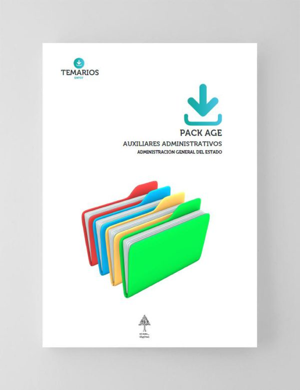 Pack AGE Auxiliares Administrativos