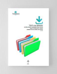 Test Repaso Auxiliares Administrativos Administración General del Estado 2020