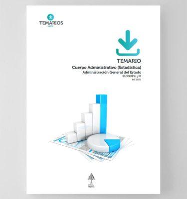 Temario Cuerpo Administrativo (Estadística) Administración General del Estado 2020
