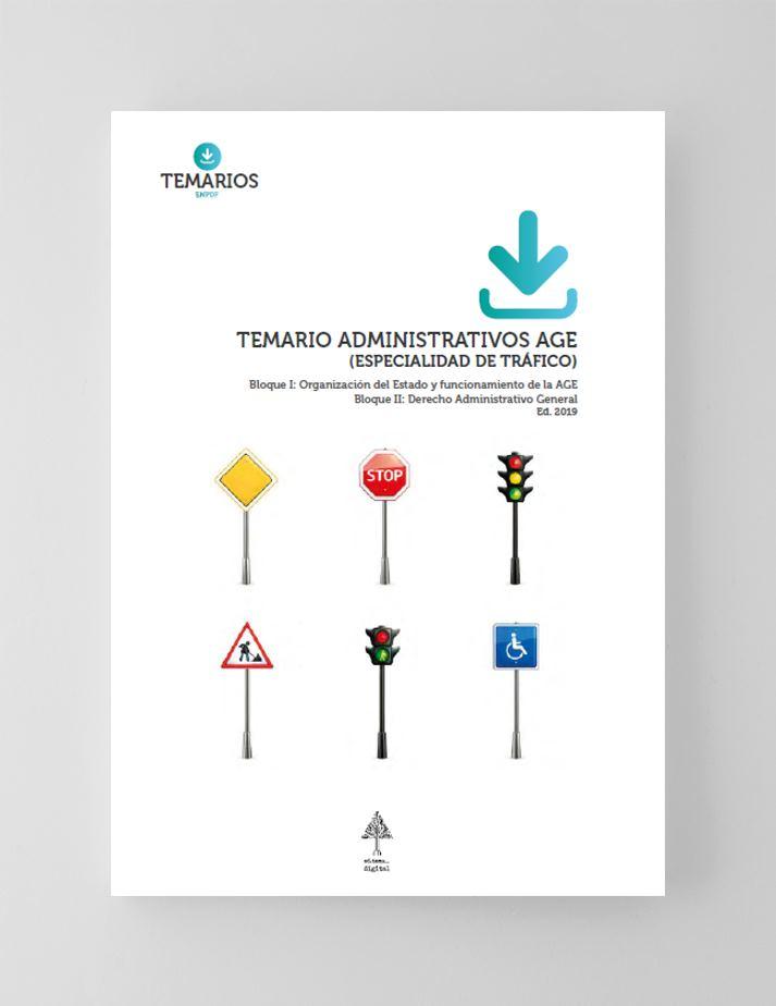 Temario Administrativos AGE Tráfico Bloque 1 y 2 - Temarios PDF