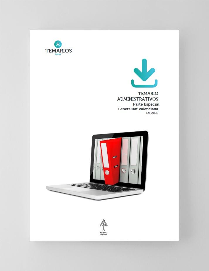 Temario Administrativos Generalitat Valenciana Parte Especial 2020