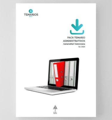 Pack Temario Administrativos Generalitat Valenciana 2020