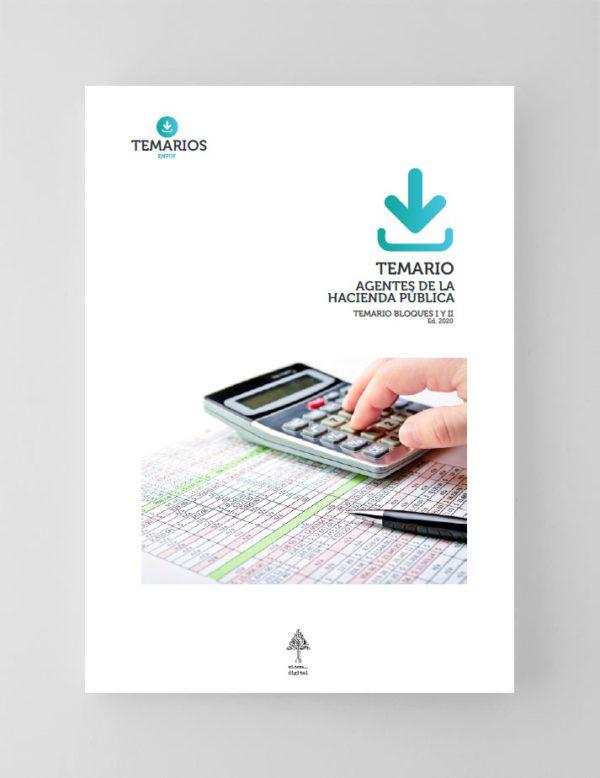 Temario Agentes de la Hacienda Pública 2020 - Bloque 1 y 2