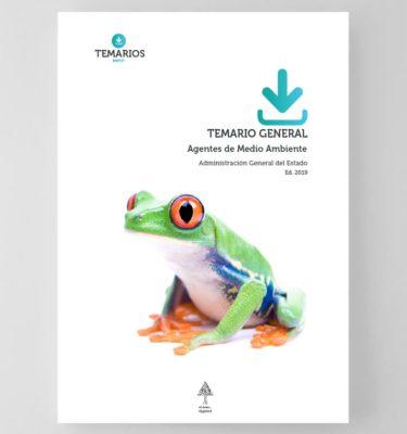 Temario General Agentes de Medio Ambiente AGE 2019