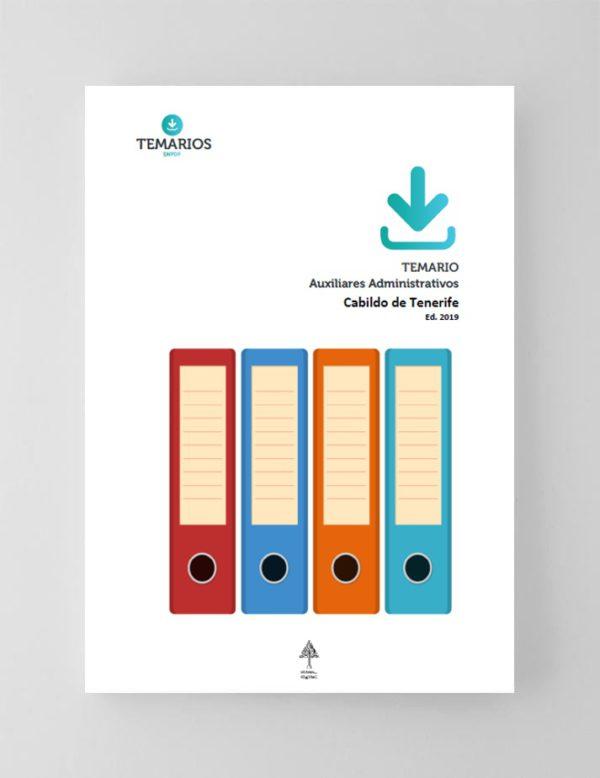 Temario Auxiliares Administrativos Cabildo de Tenerife 2019