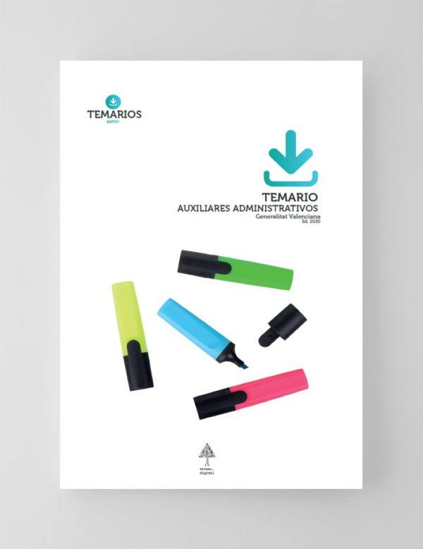 Temario Auxiliares Administrativos Generalitat Valenciana 2020
