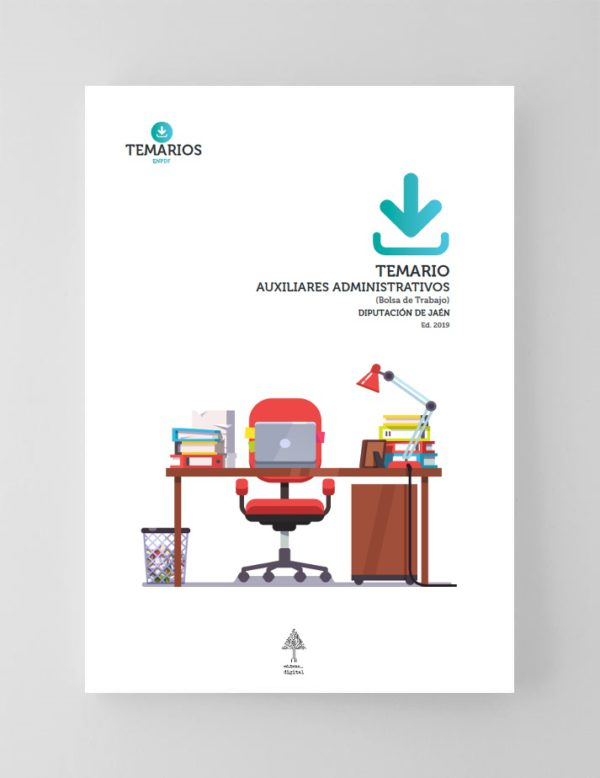 Temario Auxiliares Administrativos Diputación de Jaen 2019 Bolsa de Trabajo