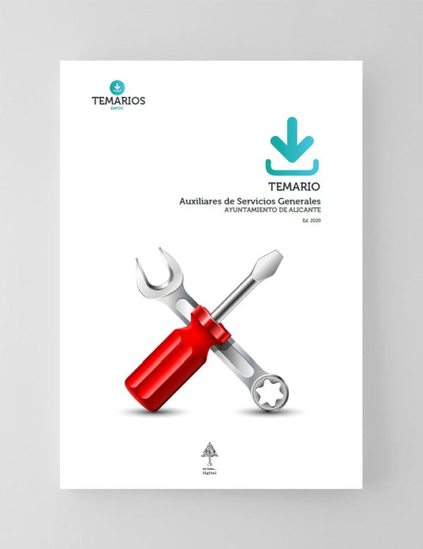 Temario Auxiliares de Servicios Generales Ayuntamiento Alicante 2020