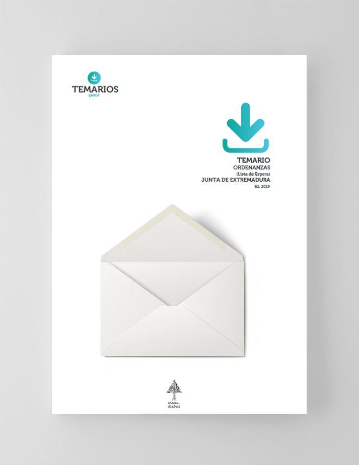 Temario Ordenanzas Junta de Extremadura Lista de Espera - Temarios PDF