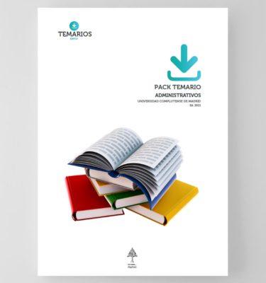 PACK Temario Administrativos Universidad Complutense de Madrid