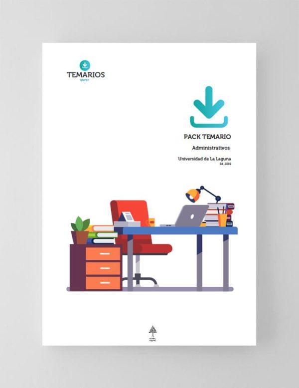 Pack Temario Administrativos Universidad La Laguna - Temarios PDF
