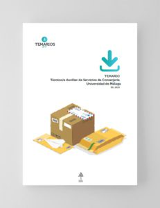 Temario Técnico Auxiliar Servicios de Conserjería Universidad Malaga 2019