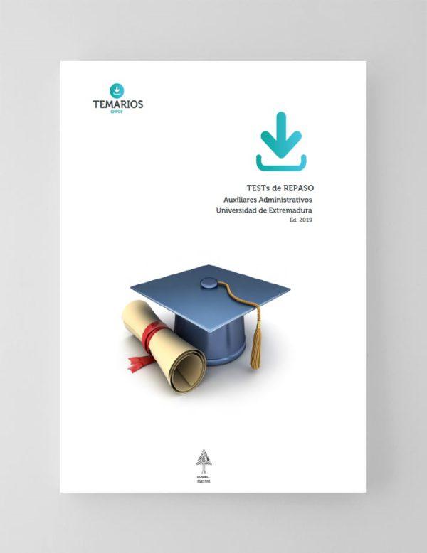 Test Repaso Auxiliar Administrativo Universidad de Extremadura 2019