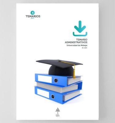Temario Administrativos Universidad de Málaga 2019