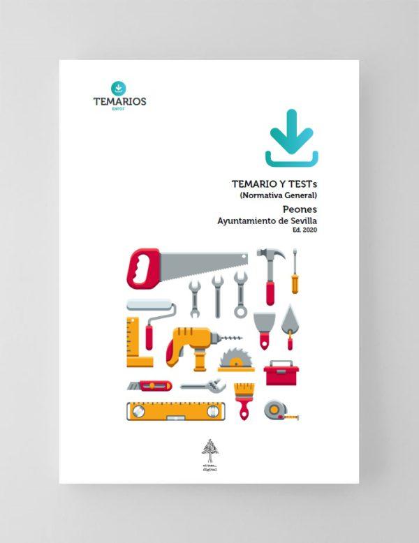 Temarios y Test Peones Ayuntamiento Sevilla 2020