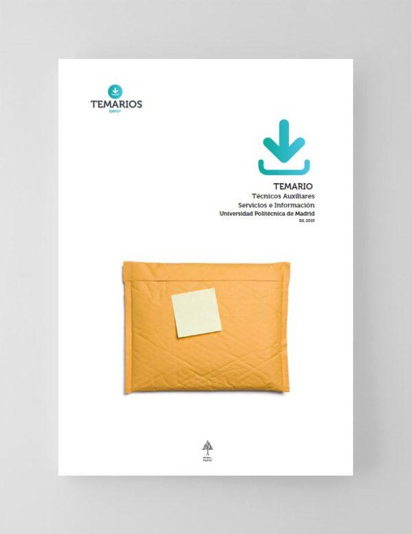 Temario Técnicos Auxiliares Servicios e Información Universidad Politécnica de Madrid 2020