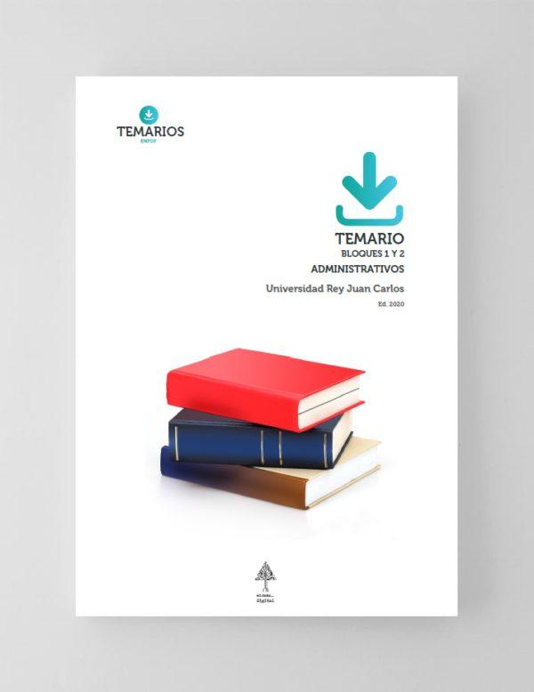 Temario Administrativos Universidad Rey Juan Carlos - Bloque 1 y 2