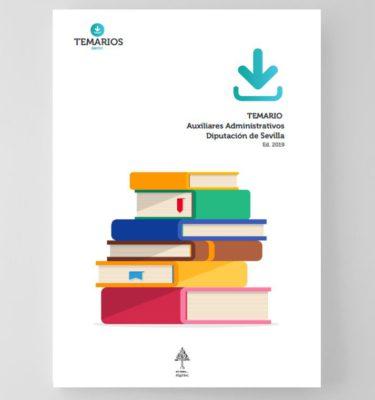 Temario Auxiliares Administrativos Diputación Sevilla - Temarios PDF
