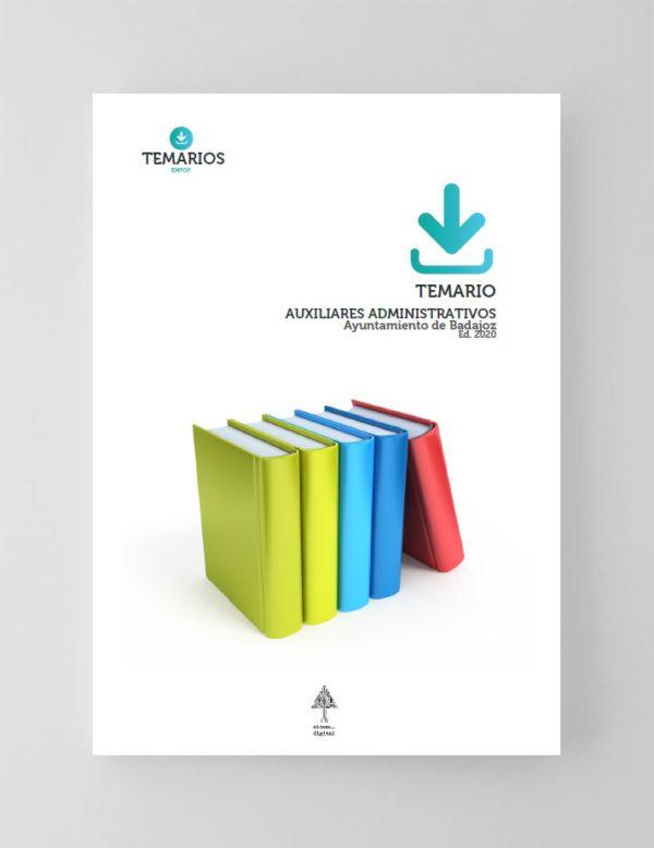 Temario Auxiliares Administrativos Ayuntamiento Badajoz 2020