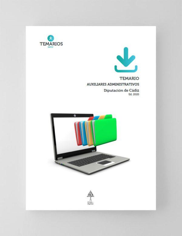 Temario Auxiliares Administrativos Diputación de Cádiz 2020