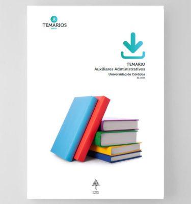 Temario Auxiliares Administrativos Universidad de Cordoba 2020