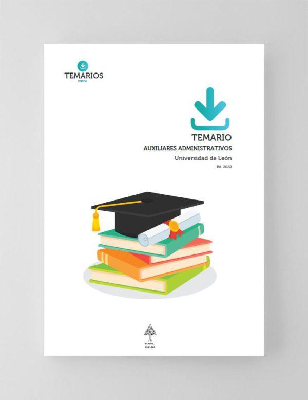 Temario Auxiliares Administrativos Universidad de León 2020